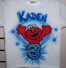 ELMO BIRTHDAY T SHIRT NEW PERSONALIZED INFANT AND TODDLER SIZES 1 2 3 4 5