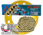 114 Link CZ 219 Pitch Kart Chain & Sprocket Deal Best Price