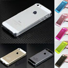 For iPhone 5 5S New Clear Transparent 0.5mm Ultra Thin Back Hard Case Cover Skin