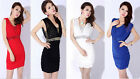 Sexy Women Peplum Sexy Formal Prom Party Gown Cocktail Mini Dress 4 Colors