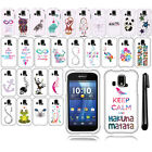 For Kyocera Hydro XTRM C6721 Art Design PATTERN HARD Case Phone Cover + Pen