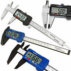 "6"" 150mm Digital Vernier Caliper Gauge Electronic Micrometer LCD Stainless Tool"