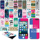 For Apple iPod Touch 5 Art Image VINYL DECAL Sticker Body Phone Cover Protector