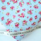 FORGET ME NOT - BLUE - SPRING FLORAL 100% COTTON FABRIC patchwork craft fashion