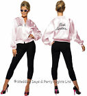 4-22 Official Grease Pink Ladies Jacket 50s 70s 80s TV Film Fancy Dress Costume