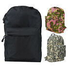 Every Day Carry School Backpack Hiking Rucksack Travel Canvas Bag