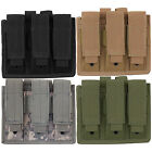 Every Day Carry Tactical Velcro & MOLLE Triple Pistol Magazine Pouch