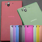 For Sony Xperia Z  L36h C6602 C6603 Ultra Thin 0.3mm Hard Matte case back cover