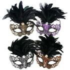 Shudehill Masquerade DARK RIALTO EYE MASK Ball Hen Stag Do Costume Mardis Gras