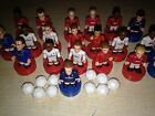 SPORTS STARS Mini Figure Collectable Footballers Pitch Football Compatable Lego
