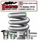 Chimney Liner Kit 316Ti Flexible Stainless Steel, Various Sizes Available