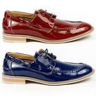 Ferro Aldo Patent Oxford Lace Up Boat shoes w/ Leather Lining MFA-19271