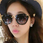 97K New Retro Luxury Designer Fashion Mens Womens Glasses Cat Eye Sunglasses