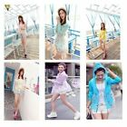 Printed Summer Beach Shirt Sun Summer UV Protection Dresses Clothing Tops 6Color