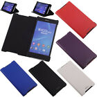 Genuine Ultra Thin Stand Flip Leather Case Cover Skin For SONY Xperia Z2 Z3 Mini