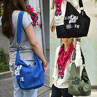 Women's Fashion Canvas Travel Satchel Backpack Student Gift shoulder Leisure Bag