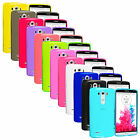 For LG G3 TPU Transparent Rubber Flexible Color Skin Case Cover
