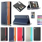 Magnetic Flip Cover Wallet Pouch Hard Stand Case PU Leather for HTC Desire 816