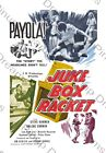 "Retro 1950's Vintage Rock n Roll Poster ""Juke Box Racket"" re-print various sizes"
