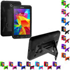 Hybrid Rugged Stand Hard Case Cover for Samsung Galaxy Tab 4 7.0 7 Inch SM-T230