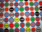 "12 LAWN BOWLS STICKERS 1""   LADS  YOUR OWN NAME   CROWN GREEN BOWLS & FLAT"