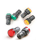 LED PILOT INDICATOR LIGHT Hole Size 22MM 220V R/G/Y 1PC or 5pcs