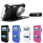 1XTide Fashion Flip Leather Case Cover For Samsung Galaxy S4 S IV Zoom C101
