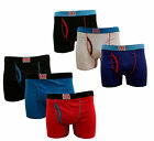 3 PACK MENS COTTON STRETCH UNION JACK BOXER TRUNKS SIZES S-XL