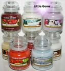 YANKEE CANDLE 40 HOURS * A ~ F * SMALL GLASS CANDLE JARS ~ YOU PICK ~ 3.7oz ~