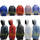 Kids Boys Girls Lightweight Rain Jacket Coat Hooded Pac A Way Showerproof Mac