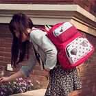 Hot Beautiful Women Korean Canvas Leisure Backpack Shoulder School Student Bags