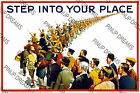 """1915 Vintage 1st World War Poster """"Step IntoYour Place"""" re-print wartime poster"""