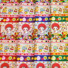 Retro Nostalgic Bunka Dolls and Toys Design Japanese Fabric - Half Yard