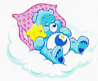 """5.5-9."""" CARE BEARS BEDTIME  BEAR WALL STICKER GLOSSY BORDER CHARACTER CUT OUT"""