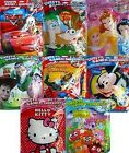 CHARACTER SURPRISE FILLED PARTY BAGS (20g)(A4/Sweets/Toys){fixed £1 p&p}