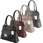 Ladies Womens Designer Boutique Shoulder Bowling Office School Handbag Bag New