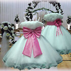 USM3D70 Fuchsia Pageant Baby Gift Formal Wedding Flower Girls Dress 1 to 14 Yrs