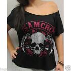SOA Sons of Anarchy Skull Forever Junior Fashion Top NEW  (SOA42)