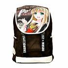 Top Quality Canvas NO GAME NO LIFE  Backpack School Purple laptop bag NEW