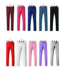 Fashion Lady's Stretch Candy Pencil Pants Casual Slim Fit Skinny Jeans Trousers