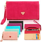 New Ladies Smart Wallet Case Card Coin Wallet Smart Purse For Iphone/S3 +