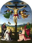 6526.Crucification of Jesus.three woman and men before him.POSTER.art wall decor