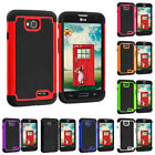 For LG Optimus L70 Hybrid Rugged Hard Matte Shockproof Case Cover