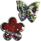 GLITTER BUTTERFLY HOME OFFICE GIFT WATER GLOBE ACRYLIC PHOTO PICTURE FRAME NEW
