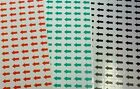 "Red Green Small Arrow Self Adhesive Stickers Labels 1/2 ""x 3/8 "" Business Office"