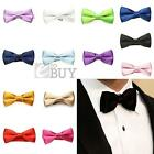 Children Baby Bow Tie Chinlon Adjustable for Dinner Wedding Party New