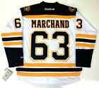 BRAD MARCHAND BOSTON BRUINS REEBOK PREMIER WHITE JERSEY NEW WITH TAGS