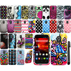For ZTE Source N9511 Majesty Z796C Design PATTERN HARD Case Phone Cover + Pen