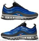 NIKE AIR MAX 97 2013 HYP MENS RUNNING LEATHER MESH HYPER COBALT BLACK MANGO