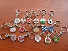 Trolley Token with Detachable Keyring (various designs)